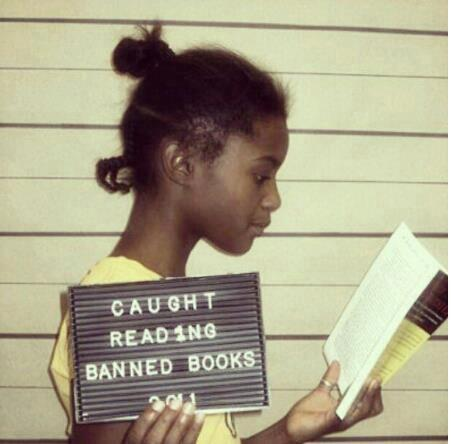 caught reading banned books