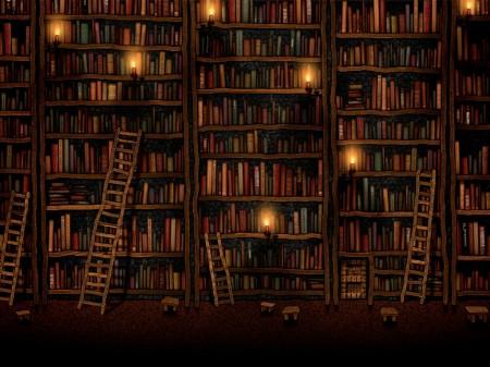 book-ipad-wallpaper-library