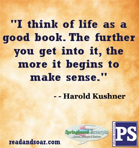Quote - Harold Kushner