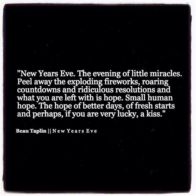 Quotes About New Years Eve