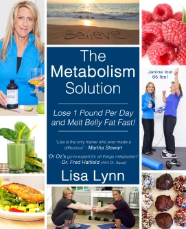 The Metabolism Solution Front Cover - 2nd Edition - Melt Belly Fat Fast