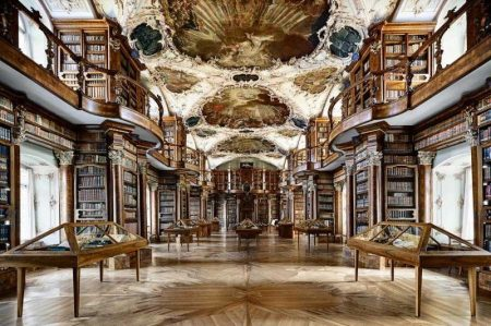 Coolest-Libraries-Abbey-Library-Interior