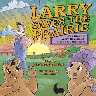 Larry Saves the Prairie Cover