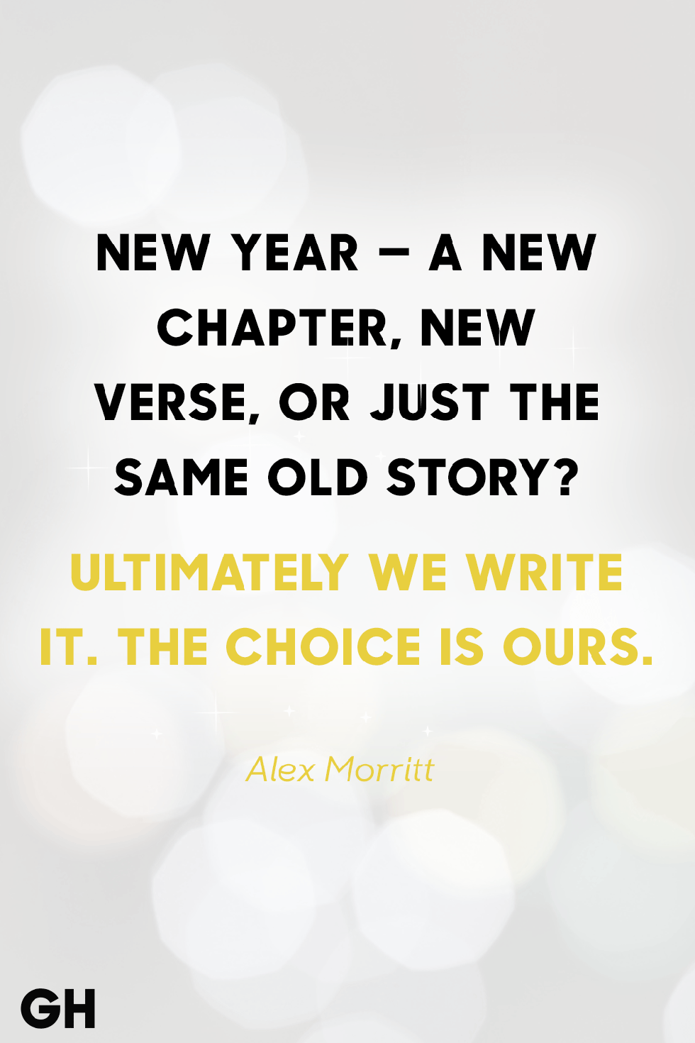 A New Year – Our Choice – Bound 4 Escape